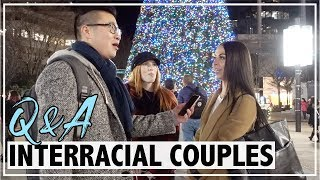 Interview People on Dating a Different Race | Interracial Couple Q&A