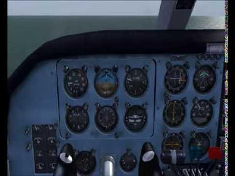 BN2B Flight Around Alderney