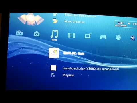 How to stream music to a console from an android phone