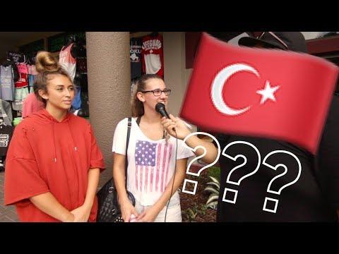 Amerikalılar Türkiye Hakkında Ne Biliyor?!?! What do Americans know about Turkey?!?!