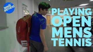 British Tennis - I'm playing an Open Mens Tournament | 2018 tour
