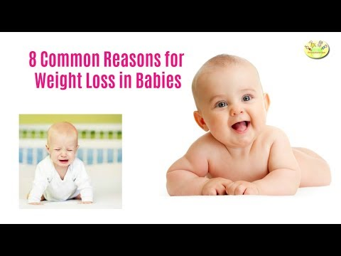 8 Common Reasons for Weight Loss in Babies