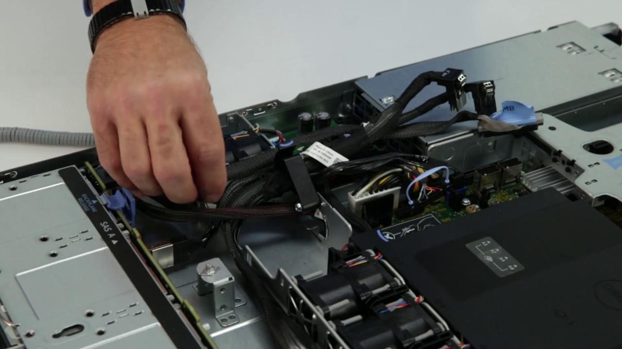 Dell Storage NX430: Remove/Install Control Panel
