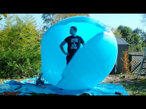 Inside a 6ft Air Balloon - 4K - The Slow Mo Guys