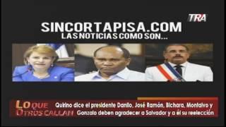 Excapo Quirino Paulino le manda mensaje a Danilo Medina y sus ministros reeleccionistas