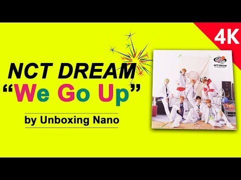 """NCT DREAM Unboxing The 2nd Mini Album """"We Go Up"""""""