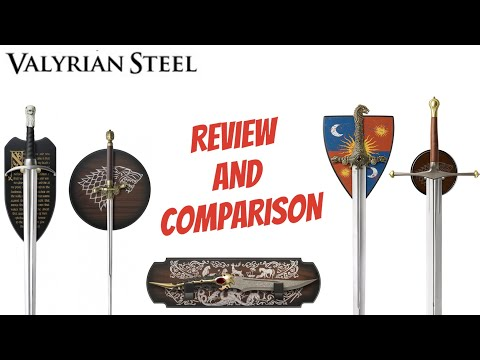 valyrian-steel-swords-review---game-of-thrones---longclaw,-ice,-oathkeeper,-needle,-and-catspaw