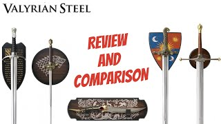Valyrian Steel Swords Review - Game Of Thrones - Longclaw, Ice, Oathkeeper, Needle, And Catspaw