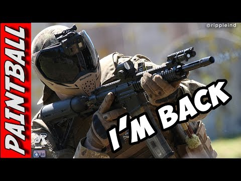 Nightmare's First Game Since Knee Surgery ➤ Paintball Wars 2017