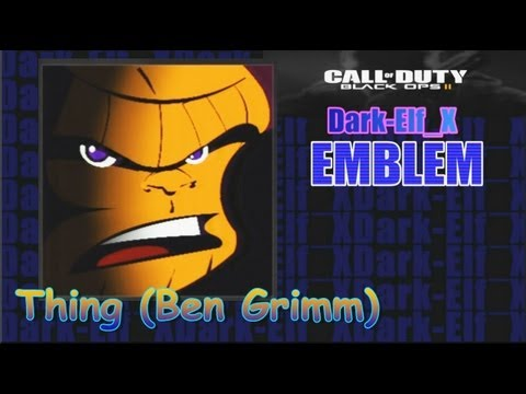 Black Ops 2 Emblem - Thing (Ben Grimm)