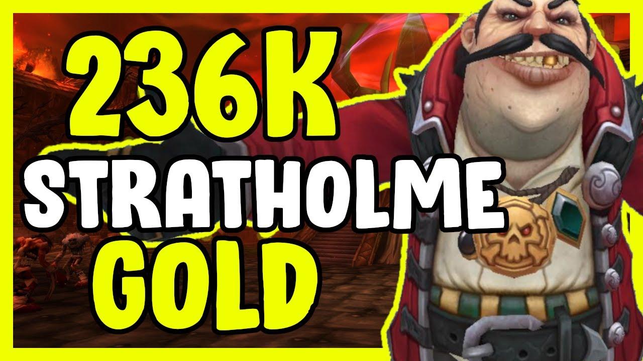 236k Gold Transmog In WoW BFA 8.3 - Gold Farming, Gold Making Guide