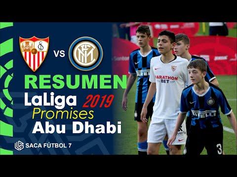 Resumen Sevilla FC vs Inter LaLiga Promises Abu Dhabi 2019