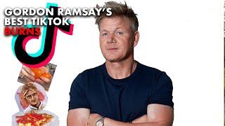 Gordon Ramsay Roasts TikTok Users Food
