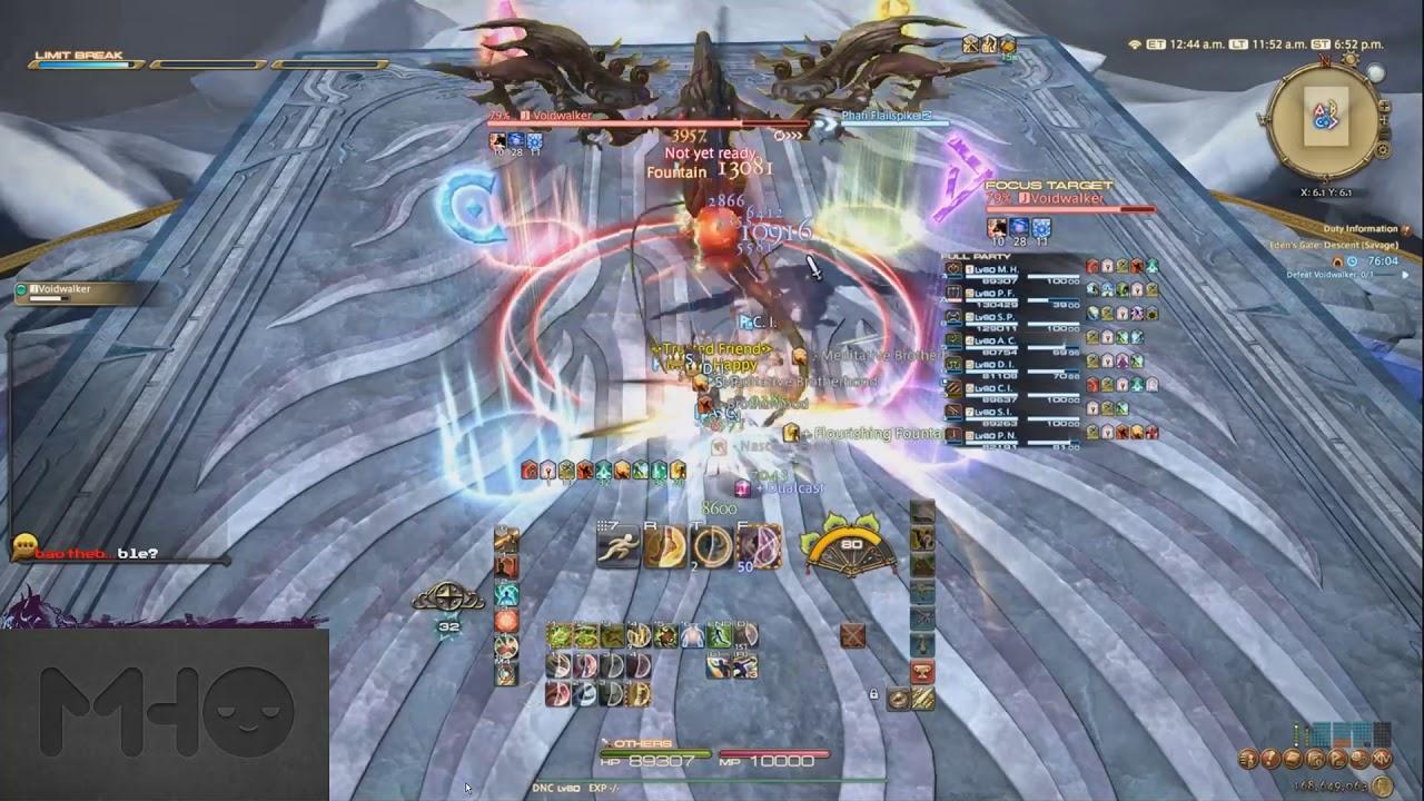 FFXIV: Eden's Gate Descent Savage Walkthrough (E2S)