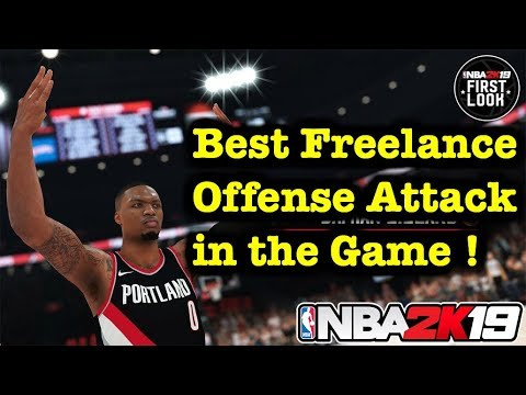 NBA 2K19 Tutorial Freelance Offense Guide - How to Run Freel