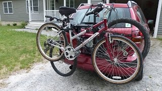 bell cantilever 300 bike rack bicycle carrier installation highlights