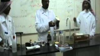 تجربة عملية عن خواص الحموض والقواعد صف ثالث ثانوي أستاذ مصطفى عبد السميع 2