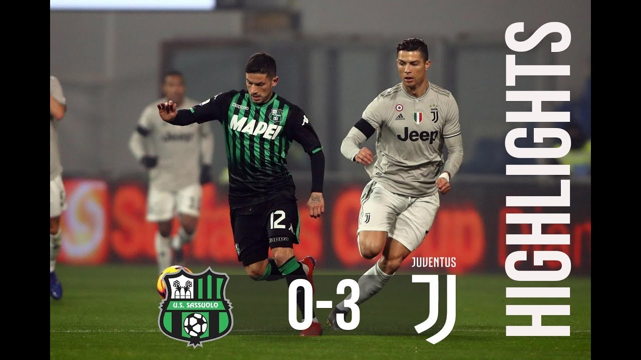 Sassuolo 0 3 Juventus Extended Highlights Goals 2019