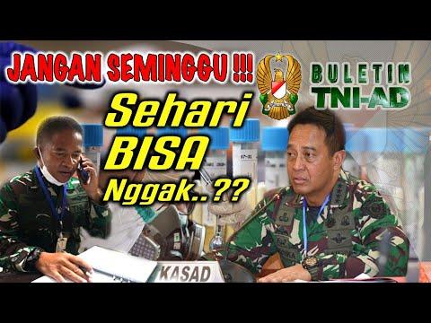 Jangan Seminggu, Sehari Bisa Nggak...?? I Buletin TNI AD