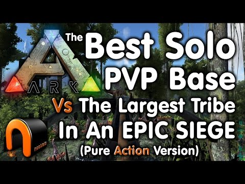 Nooblets Base Siege – The Best Solo Player Base Vs The Largest Tribe (Pure Action Version)