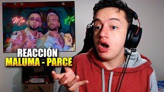 (REACCIÓN) Maluma - Parce (Official Video) ft. Lenny Tavárez, Justin Quiles