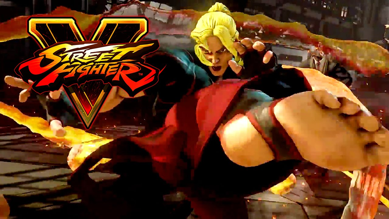 Street Fighter 5 Ken Survival Crazy Combos Youtube