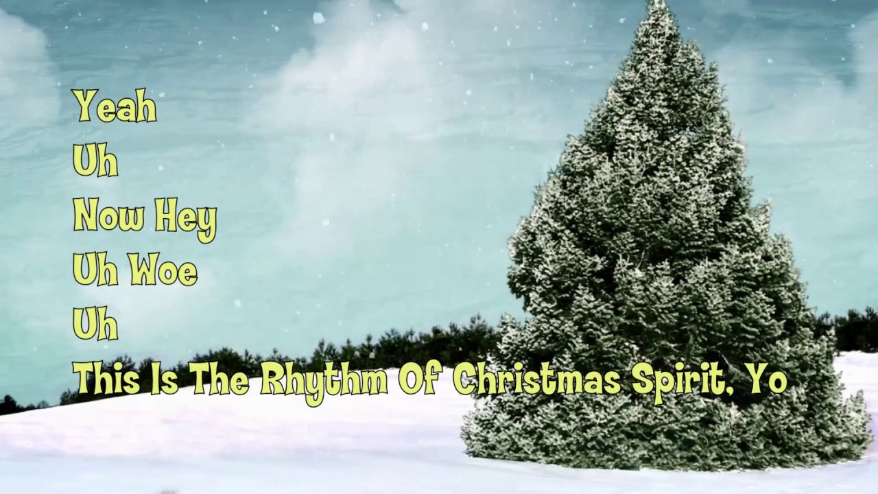 Robby The Elf - The Rhythm Of Christmas Spirit (Lyrics) - YouTube