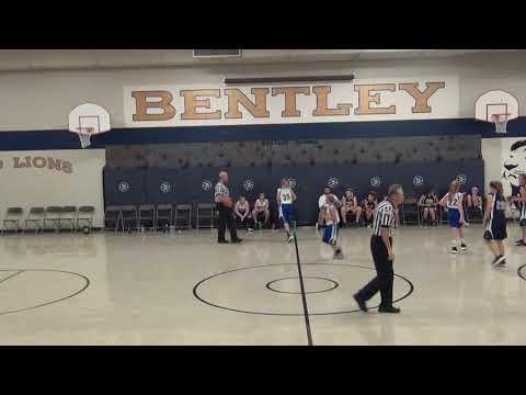 Bentley 6th Grade Girls vs. Spencer Crossing, 1st Q, 9/27/18