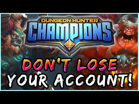 How To Link Your Account W/ Steam | Dungeon Hunter Champions