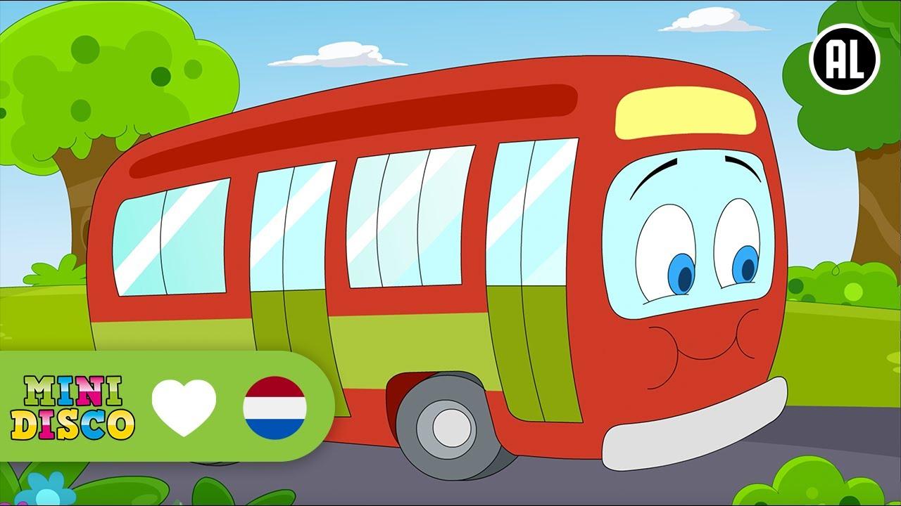 De wielen van de bus kinderliedjes tekenfilm liedjes voor peuters en kleuters minidisco - Van de ignum sanijura ...