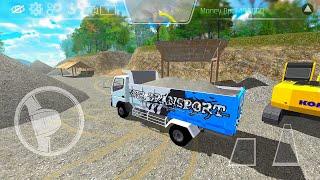 ES Truck Simulator ID   Dump Truk Angkut Pasir #3