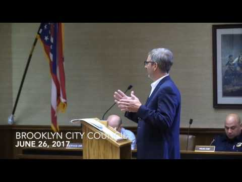 Brooklyn City Council Meeting 6/26/17