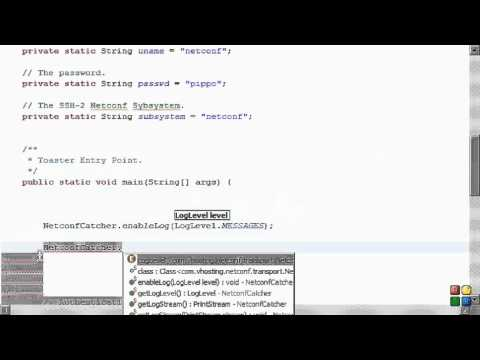 Netconf4Android Quickstart Step 4 Video 1