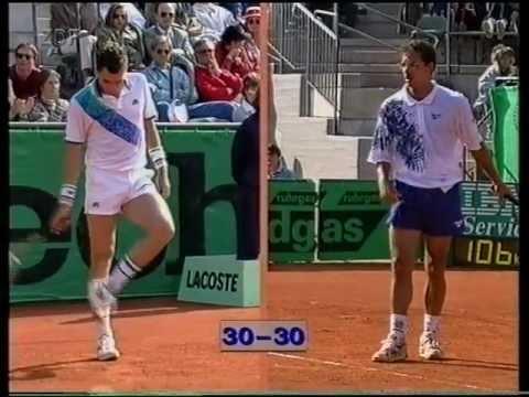Hamburg 1994 1R Braasch vs. Lendl
