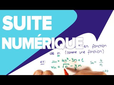 Suite Numérique Cours - Définition Suite Explicite ...