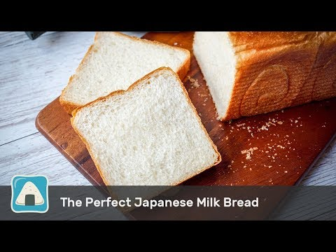 The Perfect Japanese Milk Bread (Pain De Mie) Using Stand Mixer And Bread Maker