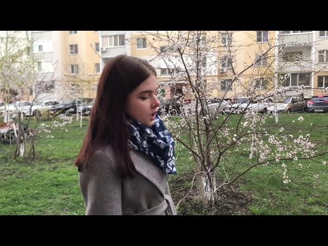 Изображение предпросмотра прочтения – ЕкатеринаВышинская читает отрывок изпроизведения «Дождь был продолжительный» Н.В.Гоголя