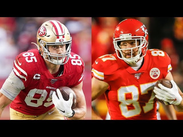 NFL TEs George Kittle & Travis Kelce sign contract extensions