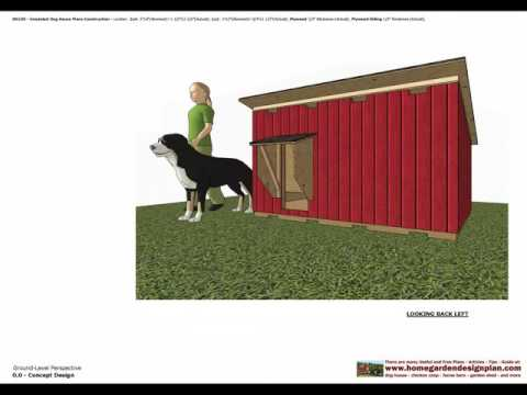 DH100   Insulated Dog House Plans   Dog House Design   How To Build     DH100   Insulated Dog House Plans   Dog House Design   How To Build An Insulated  Dog House