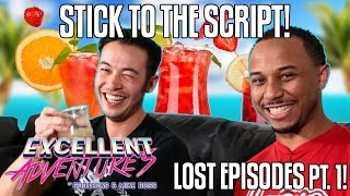 STICK TO THE SCRIPT! Excellent Adventures of Gootecks & Mike Ross LOST EPISODES #1! Street Fighter 4