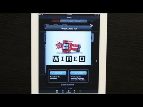 "How to Download ""Wired"" Magazine to the iPad : Tech Yeah!"