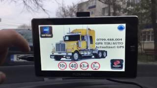 "O768-999-968 *** GPS 7"" - iGO PRIMO TRUCK 2019 - FULL EUROPA"