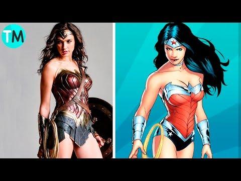 LOS 10 SUPER HÉROES Más Poderosos De DC COMICS