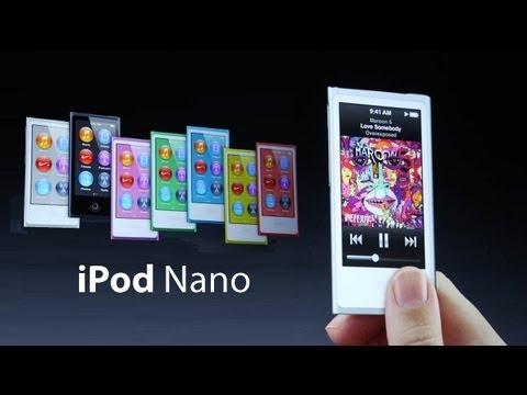 NEW iPod Nano Unveiled - Gizmo