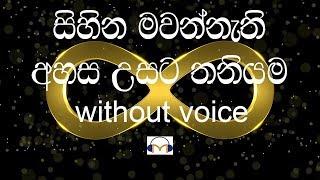 Ananthayata Yanawamai Karaoke Senaka Batagoda (without voice)