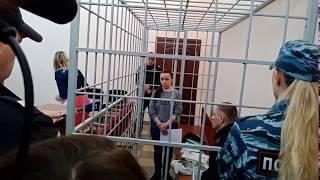 Вера Бегун в суде