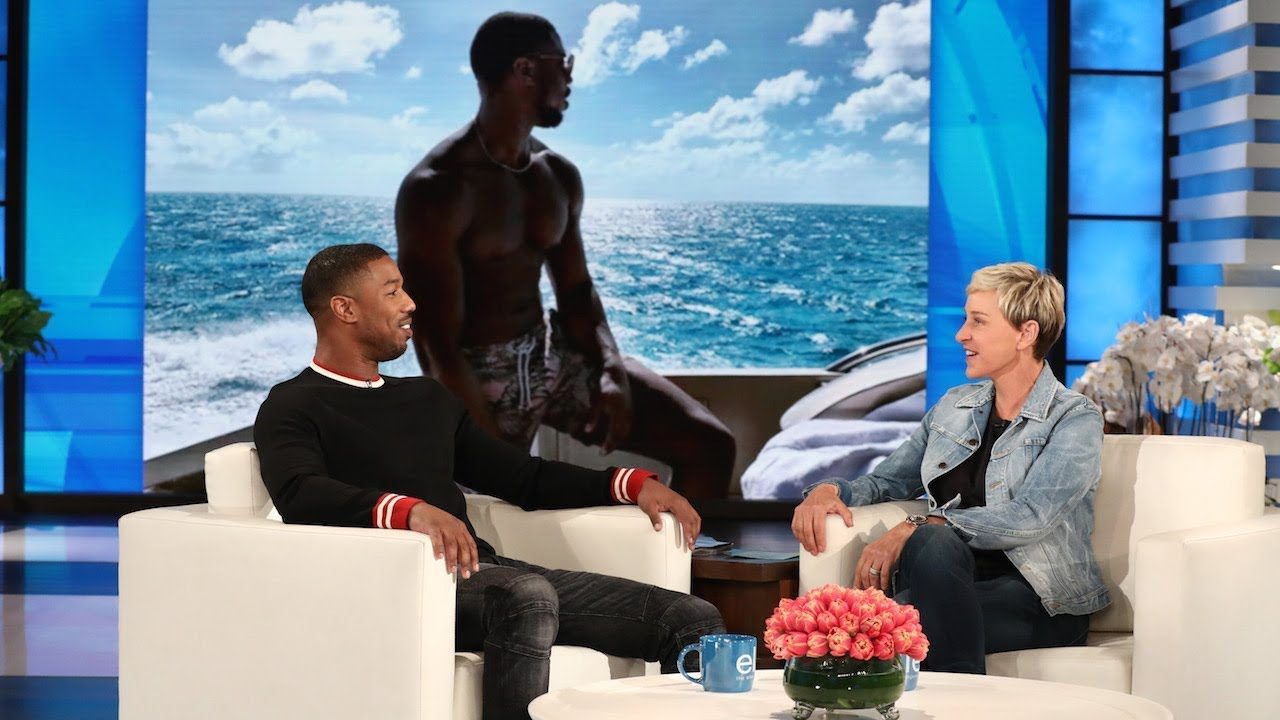 ef39dafdb526 Michael B. Jordan Barely Had a Social Life During  Black Panther ...