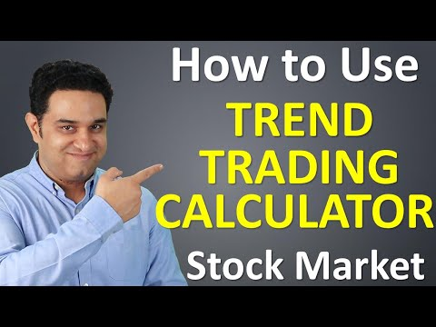 How to Use Trend Trading Calculator for Intraday Trading and Swing Trading    VipulKaushikk