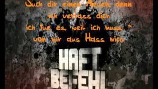 Haftbefehl ft. Jonesmann - Lass los (Lyrics)