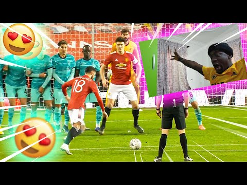 Manchester United v Liverpool | Key Moments | Fourth Round | Emirates FA Cup 2020-21 (Reaction)